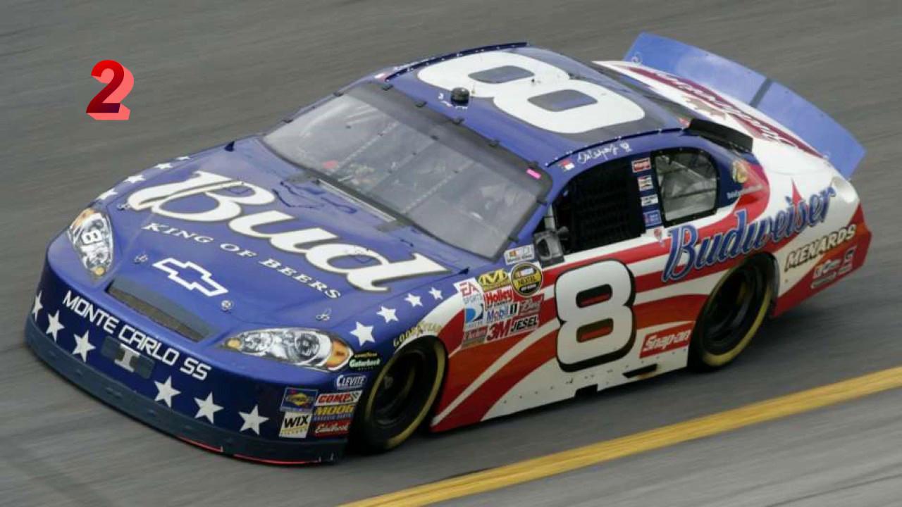 Top 10 Best NASCAR Patriotic Paint Schemes - YouTube