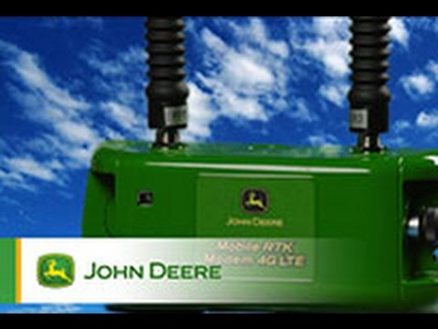 The new John Deere Mobile RTK Modem 4G LTE
