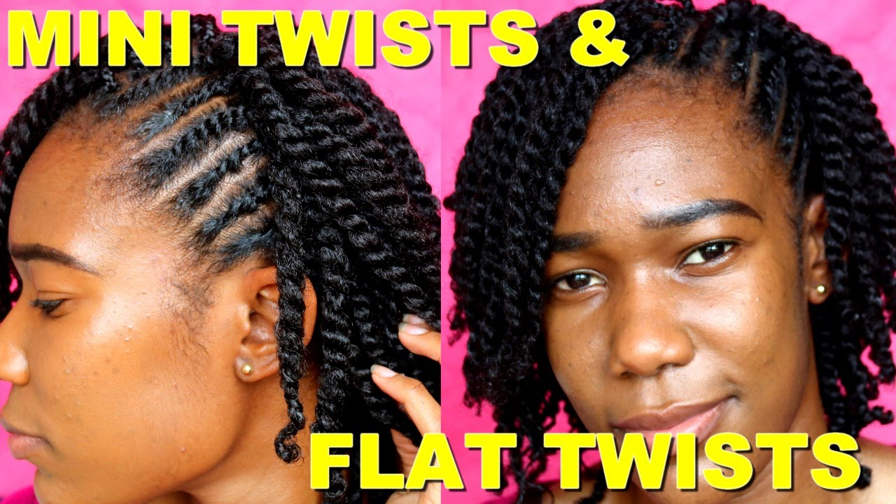 Mini Twists On Short Medium Length Natural Hair Jah Nette