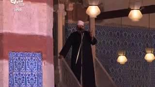 بالفيديو.. محلب يؤدي أول صلاة جمعة في رمضان بالمسجد الأزرق