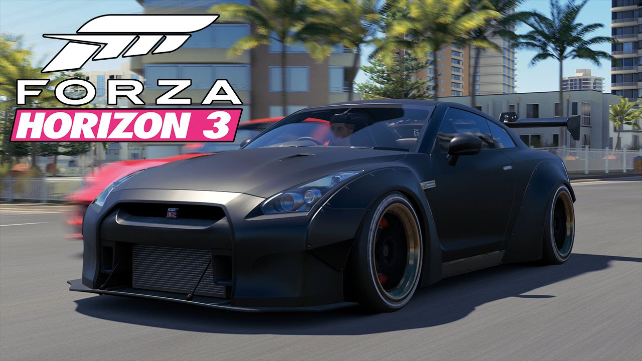 forza horizon 3 nissan gt r black edition horizon. Black Bedroom Furniture Sets. Home Design Ideas