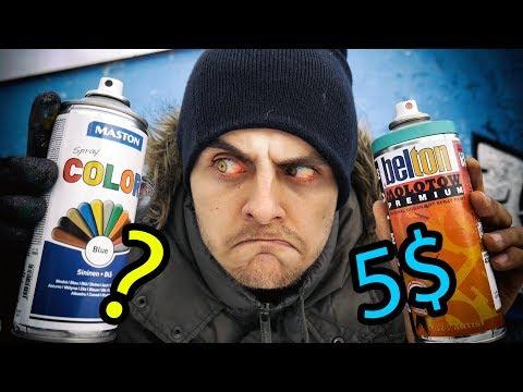 Cheap Vs Expensive - Graffiti Supplies
