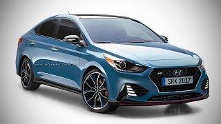 В сети появились рендеры «подогретого» Hyundai Solaris N