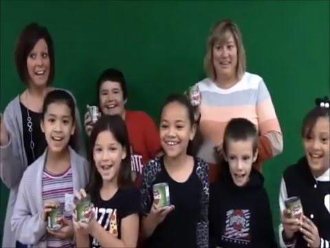 Harmon Elementary School Food Drive 2015