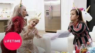 Little Women: LA - Tonya Throws Christy Under the Bus and Into a Pool (Season 8) | Lifetime