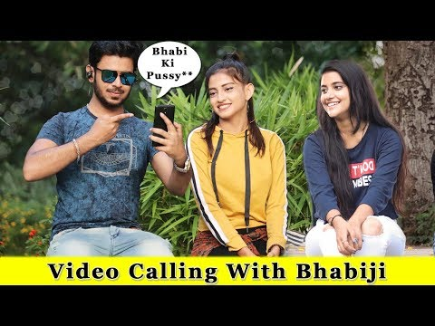 Calling With Bhabi Loudly In Public Prank  Prank In India 2019  Funday Pranks