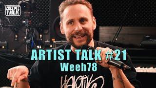 Artist Talk #21 Weeh78 über Feinkost Paranoia, Ali As, Grosses K, München HipHop, Kuhmist Kunst