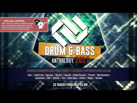 [60 Mins Mix!] Drum & Bass Anthology: 2017 - Mixed By Forever Heaven [NVR037: OUT NOW!]