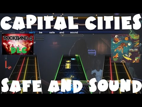 Capital Cities - Safe and Sound - Rock Band 4 DLC Expert Full Band (October 18th, 2016)
