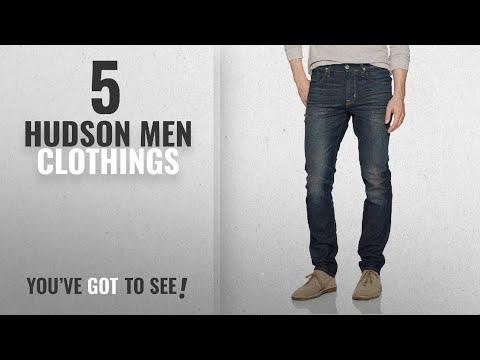 Top 10 Hudson Men Clothings [ Winter 2018 ]: Hudson Jeans Men's Blake Slim Straight Zip Fly Jeans,