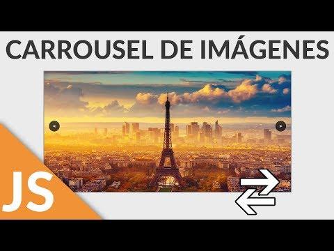Carrousel De Imágenes Con JavaScript Y HTML5