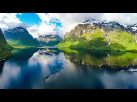 Beautiful and amazing aerial footages of Mountains, Lakes, Rivers and Relaxing Music.