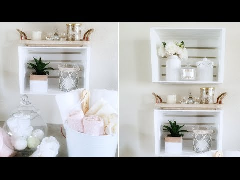STORAGE UNIT | QUICK AND EASY DIY IDEAS | GUEST ROOM, BATHROOM, HOME DECOR 2019