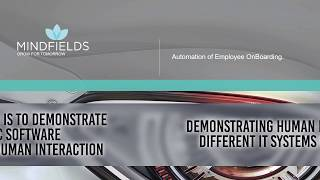 This video demonstrates the robotic automation of employee onboarding process. it shows how software can read, enter and validate data in differe...