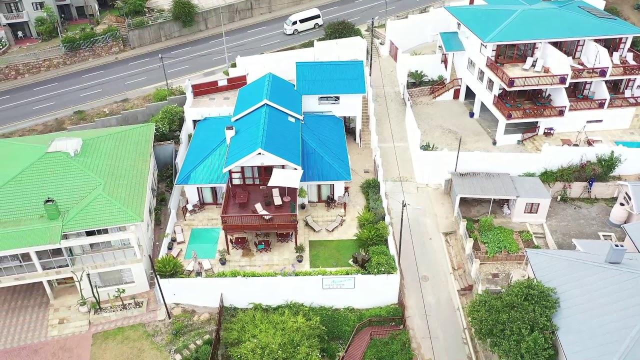 Aquamarine Guest House - Mossel Bay - Aerial Video