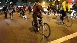 Rollout, Los Angeles Critical Mass Jan 2010