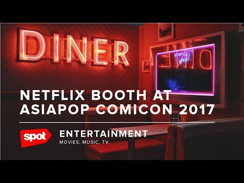 Netflix Booth at AsiaPOP Comicon Manila 2017