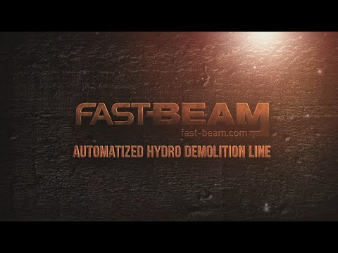 Automatic Hydro Demolition Line