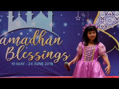 Lagu Anak : Baju Baru 'Cover' @ Live Mall Cibubur Junction