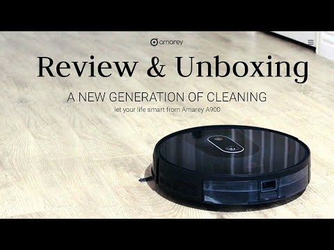 Best Robot Vacuum 2020 - Amarey A980 Review & Unboxing