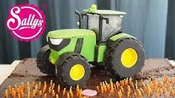 John Deere Traktor Torte 3D / 3D Cake / Sallys Welt