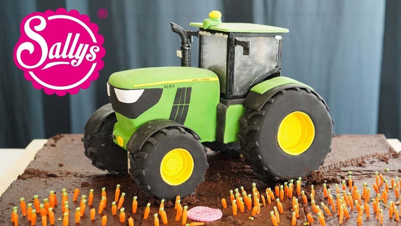 john deere traktor torte 3d 3d cake sallys welt youtube. Black Bedroom Furniture Sets. Home Design Ideas
