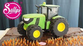 John Deere Traktor Torte 3D / 3D Cake