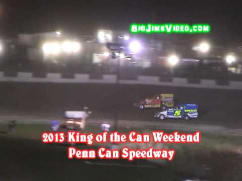 2013 King of the Can Penn Can Speedway Highlights