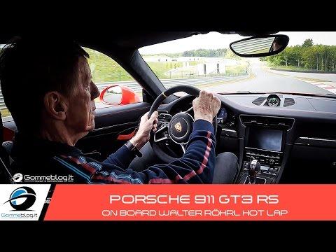 Porsche 911 GT3 RS | HOT LAP OnBoard Walter Röhrl