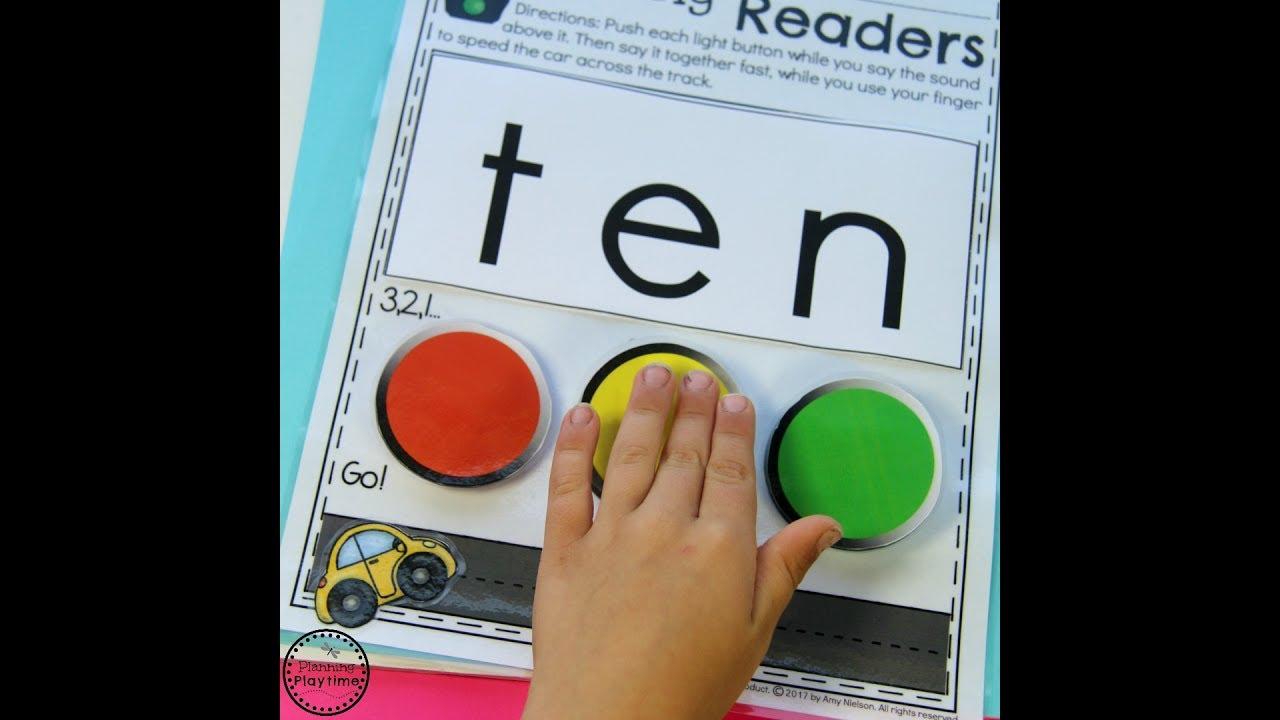 Kindergarten Reading Practice Youtube