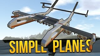 SimplePlanes - FLYING WEASEL ★ Let's Play SimplePlanes (Simple Planes Gameplay)