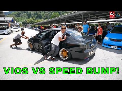 SUPER Low Vios Stance VS Speed Bump
