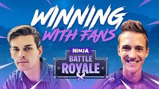 Winning With Fans #2!! - Fortnite Battle Royale Gameplay - Ninja