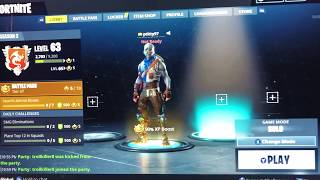 Fortnite - HOW TO JOIN PARTY WHILE SERVERS ARE DOWN!!!