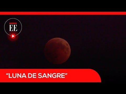 así-se-vio-la-'luna-de-sangre',-el-eclipse-lunar-más-largo-del-siglo-|-el-espectador