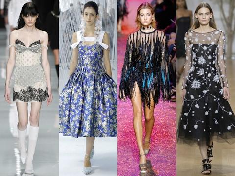 Одежда для особых случаев: готика и вечерние платья