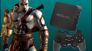 MXQ 4K - Testando Controle Joypad Usb e Jogando