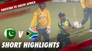 Short Highlights | Pakistan vs South Africa | 3rd T20I 2021 | PCB | ME2E