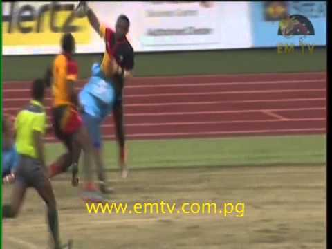 Rugby 7s - PNG vs Solomon Islands | XV Pacific Games Day #7 #EMTVPacGames
