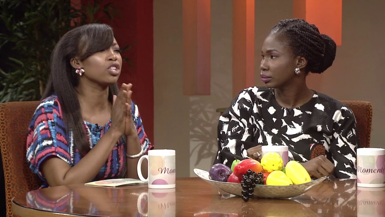 """Moments - """"WHAT IS IN A NAME"""" WITH JIMMY THE HYPEMAN & BUNMI  WILLIAMS (NEE OBASANJO)"""