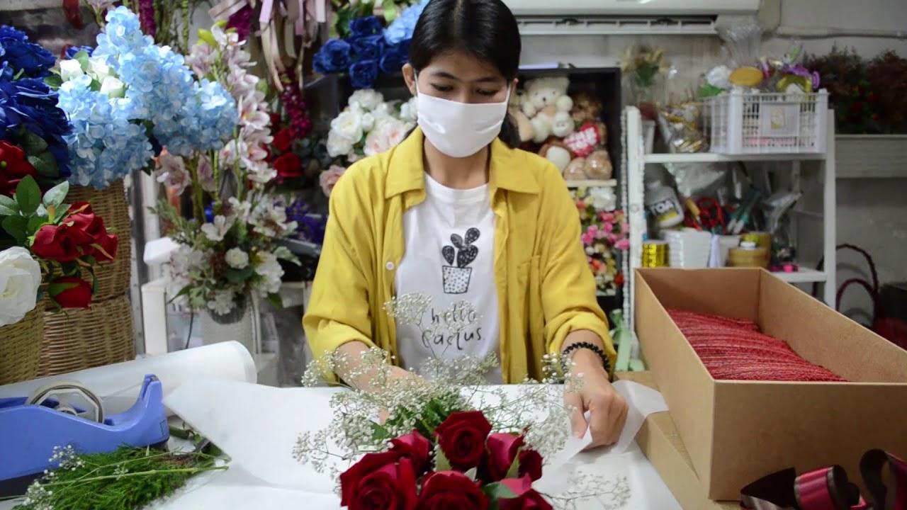 EP17-สอนจัดดอกไม้กล่องดอกไม้ I By 108FLORIST WORKSHOP