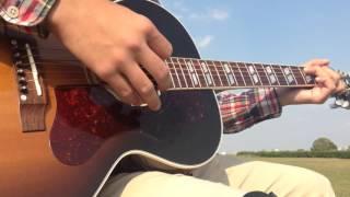 斉藤和義「進め なまけもの」を弾き語りでカバーしました。 使用ギター:...