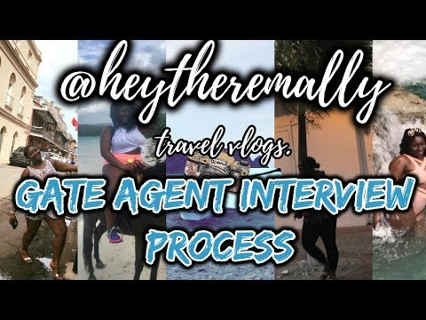 Interview Process for Gate Agent Positions