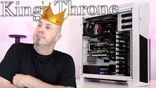 The Kings Throne $4K Expensive & Excessive SLI PC Build!
