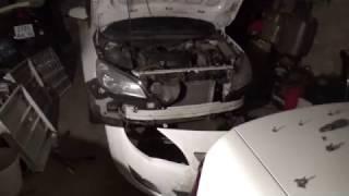 видео Opel Astra J: Бампер передний