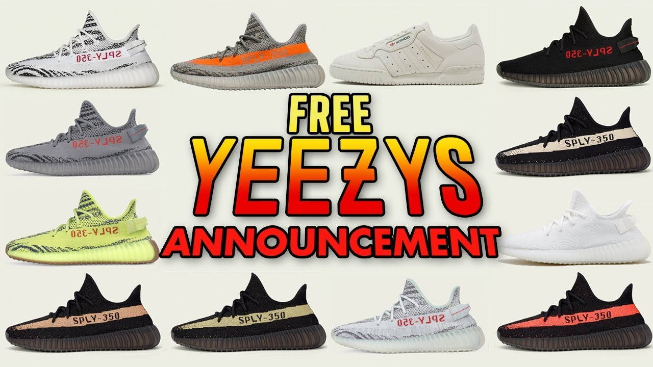 January Free Yeezy Giveaway Announcement - YouTube 4b91219a0