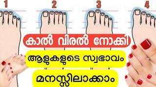 കാൽ പാദം നോക്കി ആളുകളുടെ സ്വഭാവം മനസ്സിലാക്കാം | Shapes of feet and personality | MT Vlog