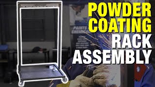 How to Assemble the HotCoat Powder Coating and Paint Rack - Eastwood