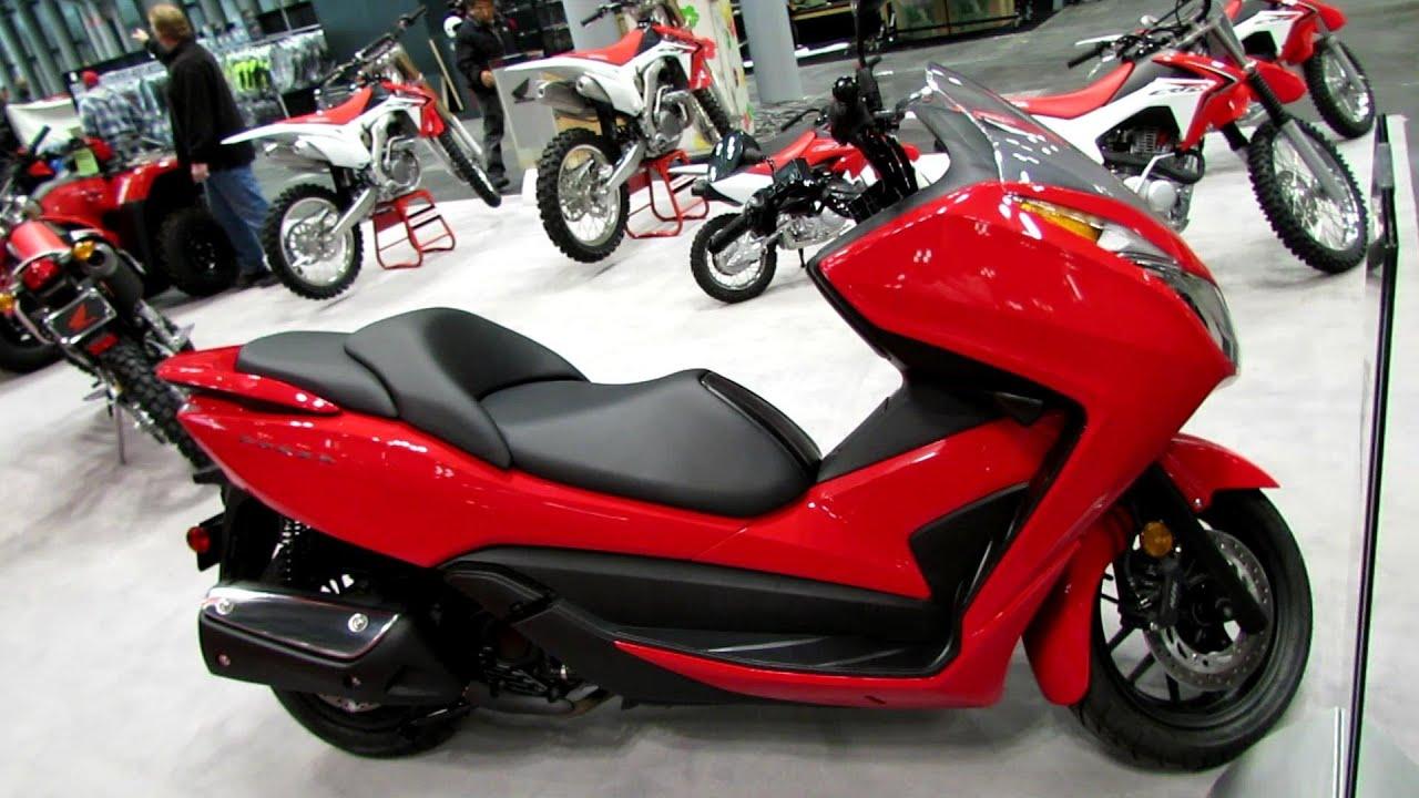 2014 Honda Forza Scooter Walkaround   2013 New York Motorcycle Show    YouTube