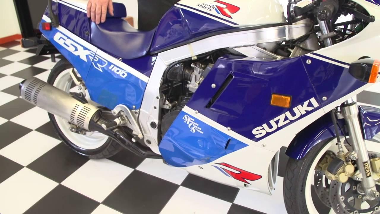 1988 Suzuki Gsx R 1100 Youtube